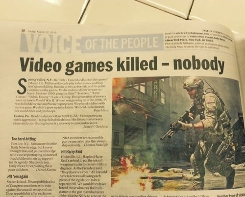 The Truth About Gaming and Violence