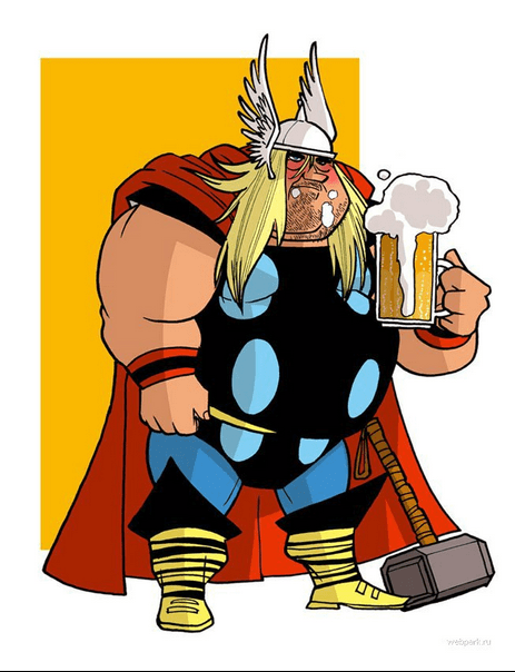 Thor Loves His Ale