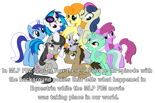 season 4,background ponies