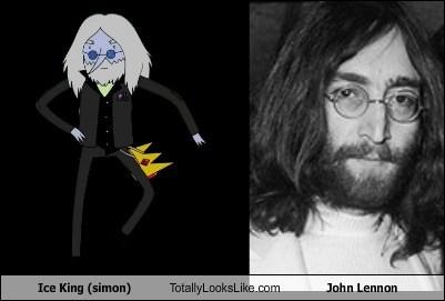 Ice King Totally Looks Like John Lennon