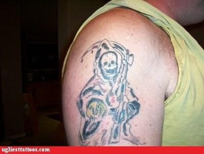 Death,grim reaper,funny,derp