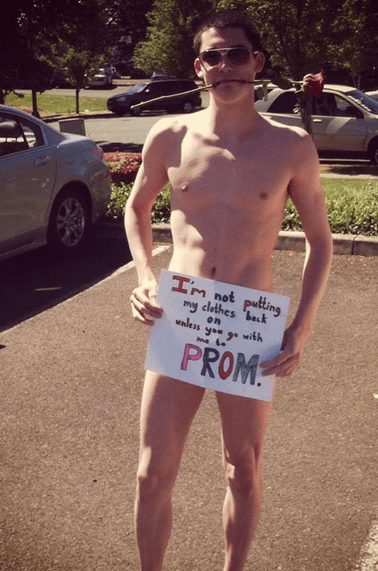The Naked Prom Proposal Works 100% of the Time, 60% of the Time