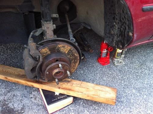 mechanic problems,car jack,wheels,twilight,funny