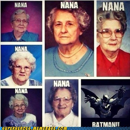 Old Ladies Love the Bats