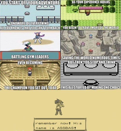 The Most Important Choice in Pokemon Games
