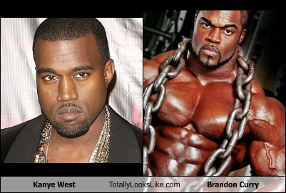 Kanye West Totally Looks Like Brandon Curry