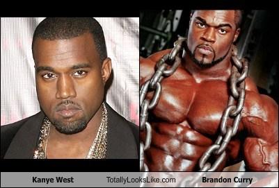 Kanye West Totally Looks Like Brandon Curry