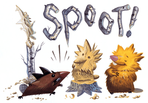 Spoot! by Becky Dreistadt