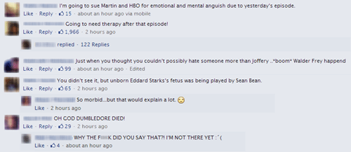 This Week's Game of Thrones Episode Rustled Some Jimmies
