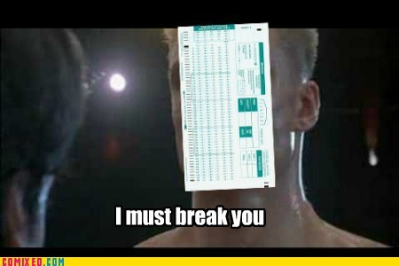 Rocky vs. Scantron