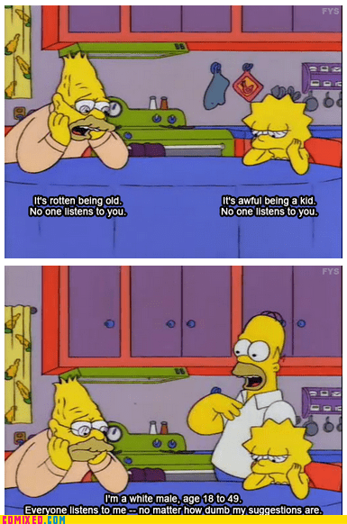 The Simpsons speak the truth