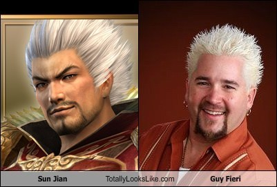 Sun Jian Totally Looks Like Guy Fieri