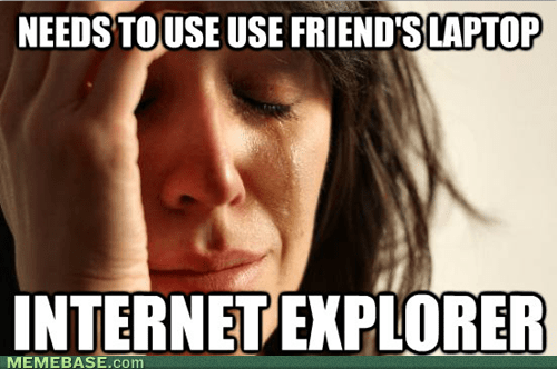 First World Ad-Block problems