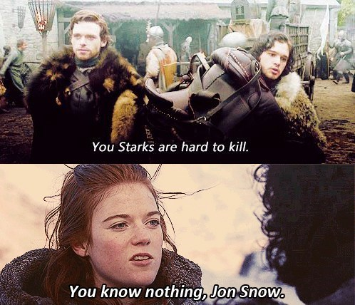 Jon Snow is wrong. AGAIN!