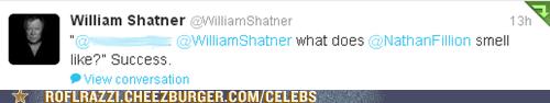 twitter,nathan fillion,William Shatner