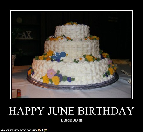 HAPPY JUNE BIRTHDAY