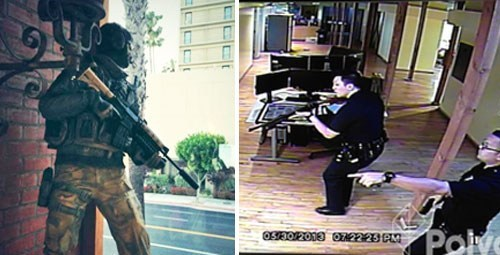 False Alarm of the Day: LAPD Surrounds a Statue of Ghost from Call of Duty