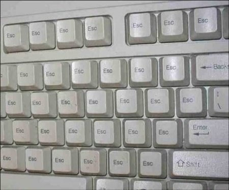 esc,keyboards,funny,g rated,there I fixed it