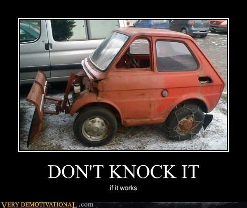DON'T KNOCK IT