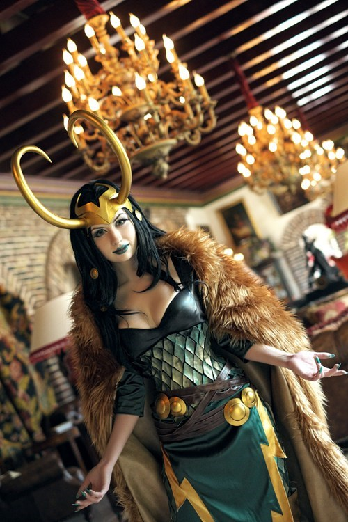 awesome lady loki