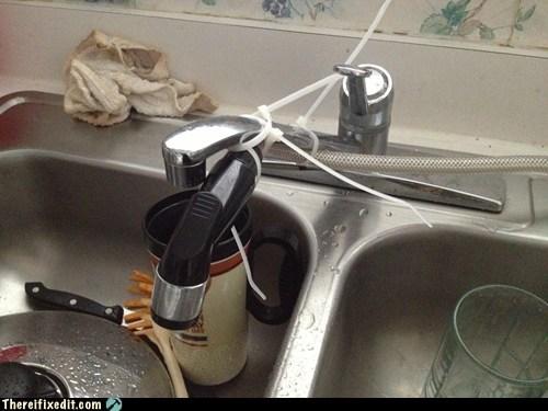 kitchen sinks,zip ties,sink,funny