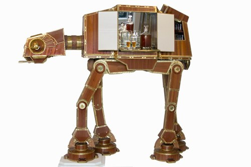 The AT-AT Liquor Cabinet