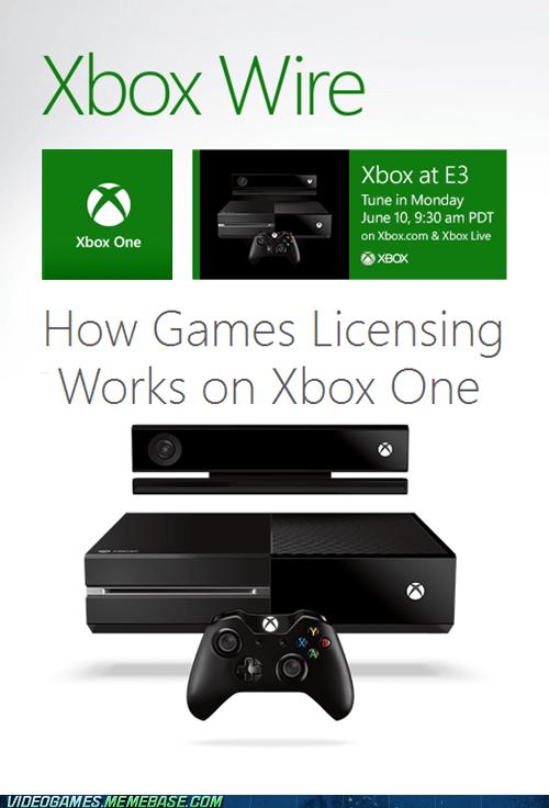 Xbox One License News