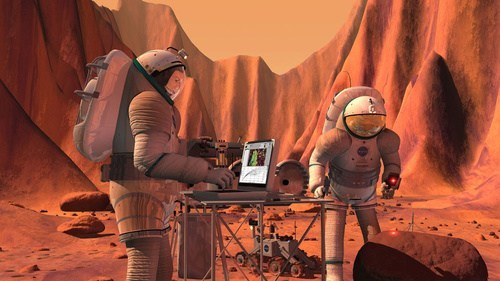 Live on Mars, and Access the Internet