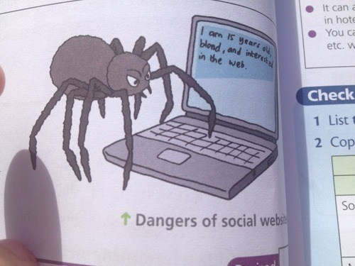 On the Internet, Nobody Knows You're a Spider