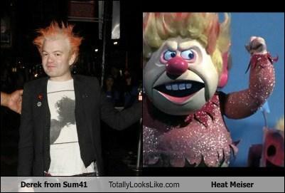 clowns,sum41,heat meiser,totally looks like,funny