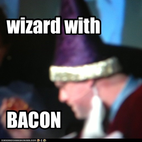 wizard bacon