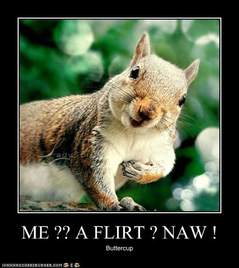 Buttercup is Totally a Flirt!