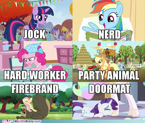 This Is NOT What Their Cutie Marks Are Telling Them!
