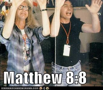 Matthew 8:8