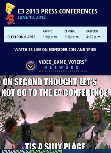 EA Press Conference Feels