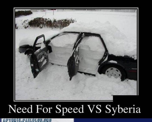 Need For Speed vs Siberia