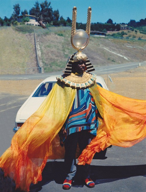 Sun Ra Realizes This Isn't Where He Parked His Spaceship