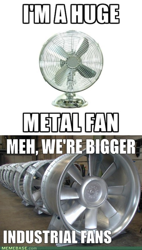 We're Really Just Fans of Fans