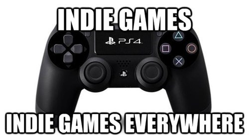 E32013,PlayStation 4,Sony,indie games