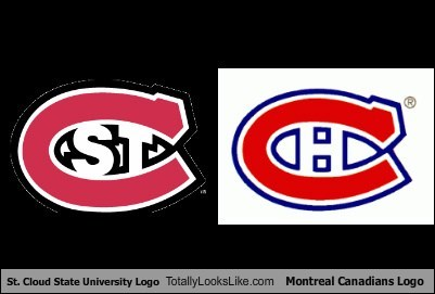 St. Cloud State University Logo Totally Looks Like Montreal Canadians Logo