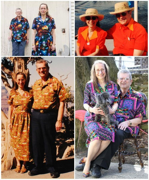 The Sweetest Thing of the Day: Couple Wears Matching Outfits for 35 Years
