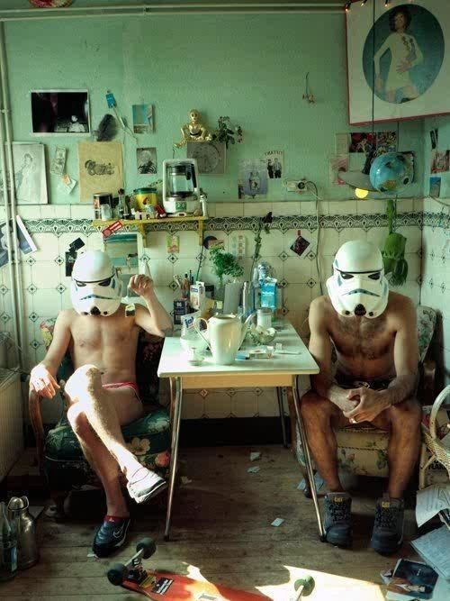 Off Day For Some Stormtroopers