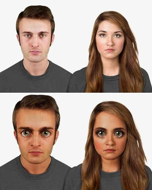 This Looks Shopped of the Day: Human Faces of the Future