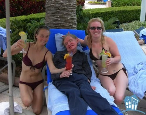 cocktails,beach,science,stephen hawkings,funny,after 12,g rated