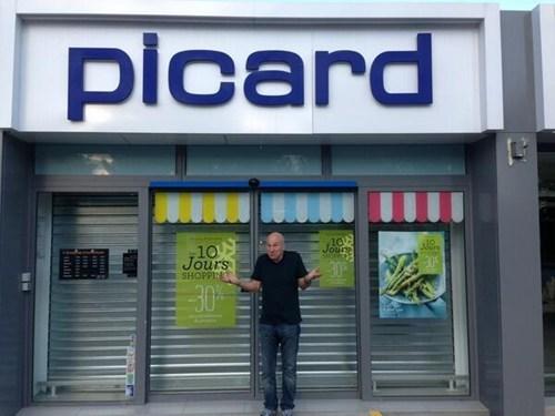 Mr. Stewart Finds His Store