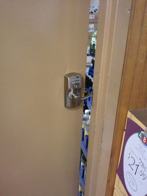 The Old Lock Wasn't Secure Enough