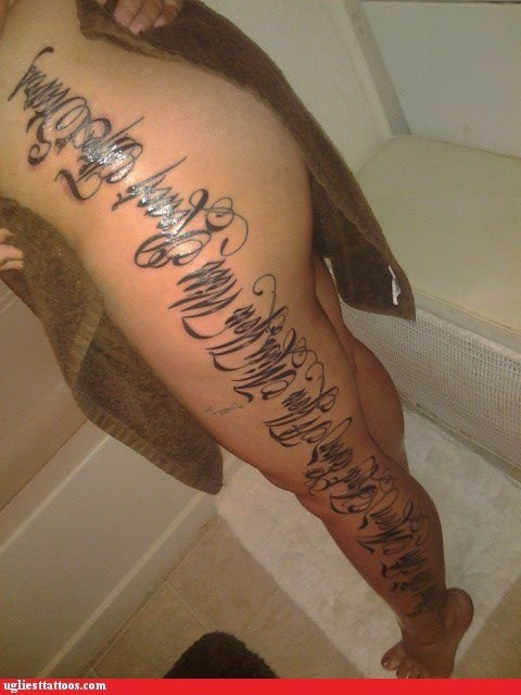 quotes,wtf,tattoos,funny