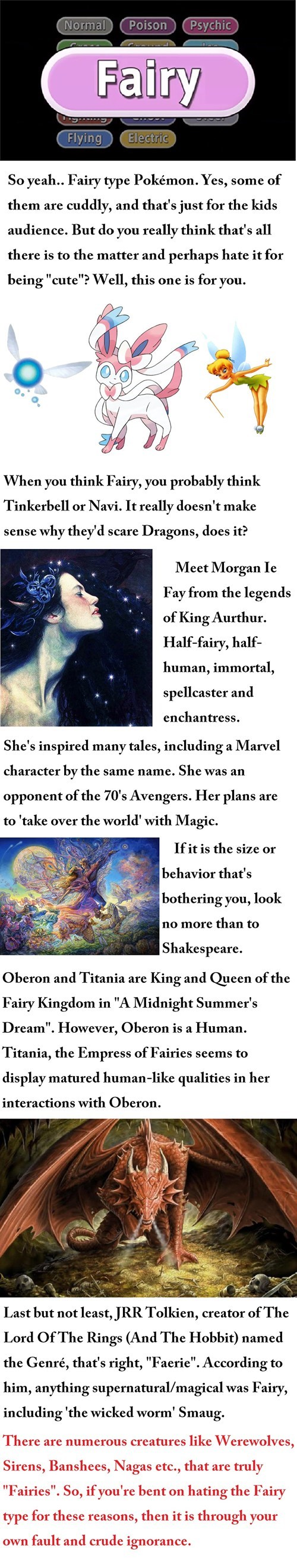 Why Are Fairies Powerful?