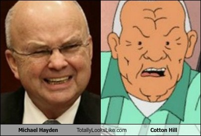 Michael Hayden Totally Looks Like Cotton Hill