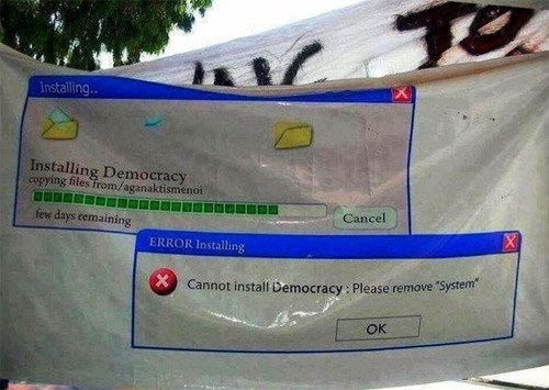 Meanwhile in Turkey of the Day: Re-Installing Democracy